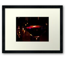 Why don't you come on over? Framed Print