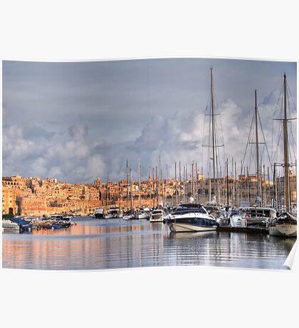 Vittoriosa Marina Poster