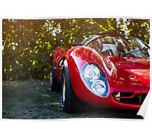 Vintage Sports Car Poster