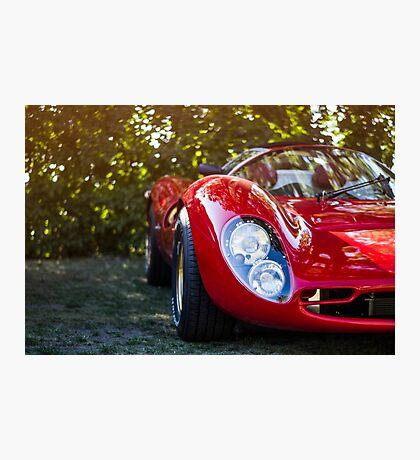 Vintage Sports Car Photographic Print