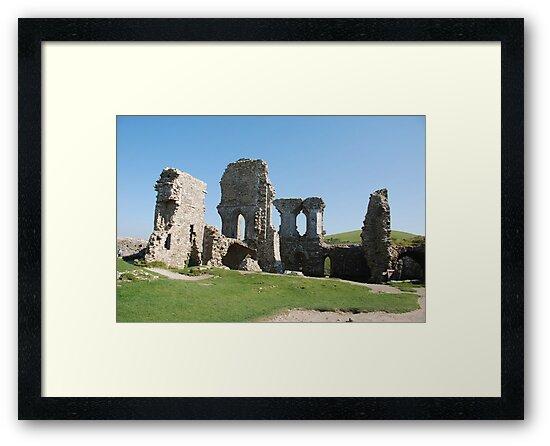 corfe castle by linsads