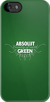 "ABSOLUT GREEN ""Country of earth"" by yanmos"