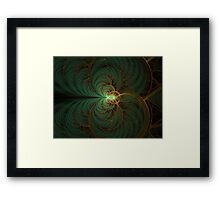 Center Of Zero Framed Print