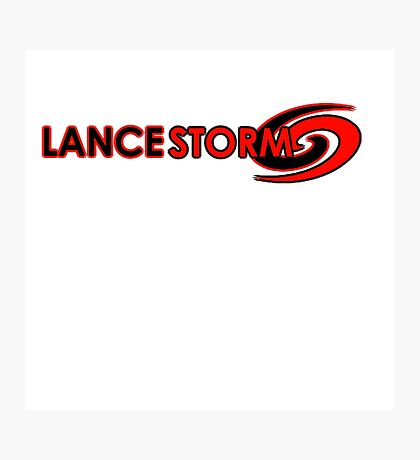 Lance Storm Logo - Eye of the Storm Photographic Print