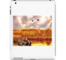 """Lessons of the First Hunt"" iPad Case/Skin"