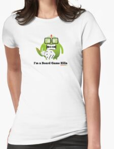I'm A Board Game Zilla Womens Fitted T-Shirt