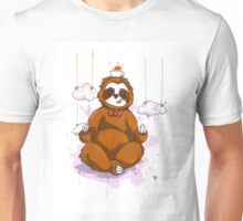 The Peaceful Zen Sloth Unisex T-Shirt