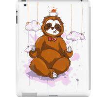 The Peaceful Zen Sloth iPad Case/Skin