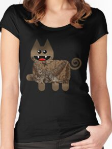 KITTEN 5/6 Women's Fitted Scoop T-Shirt