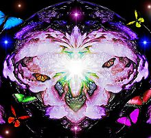 """Butterfly Heaven """"Dedicated to Deborah Lazarus host of the GEMS group"""" by Graham Southall"""