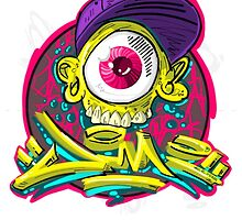 Classic eyeball  by Jimi Kellog