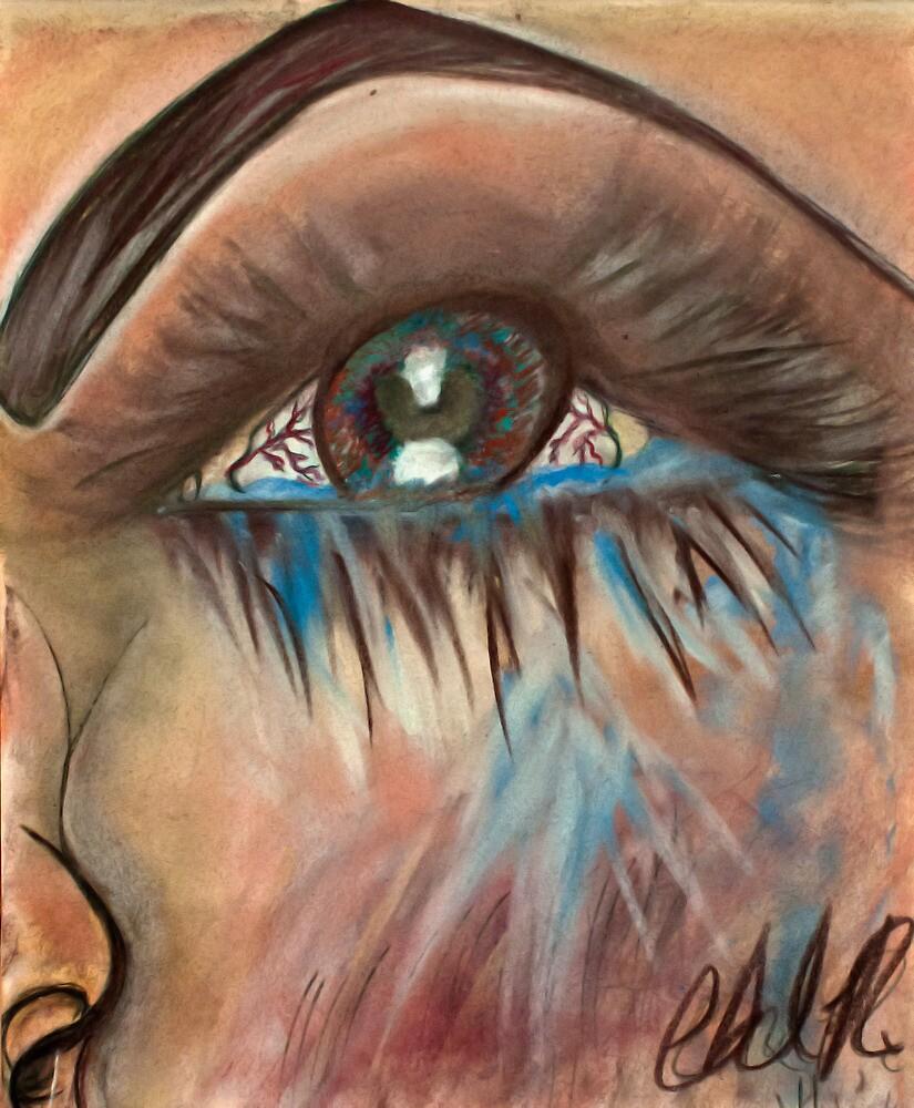 Un corazón que no ve, no se siente... by Christina Rodriguez