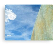 Henry Moore Sculpture Canvas Print