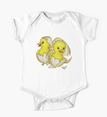 Easter Eggs One Piece - Short Sleeve