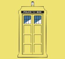 Multi-colour TARDIS Kids Tee