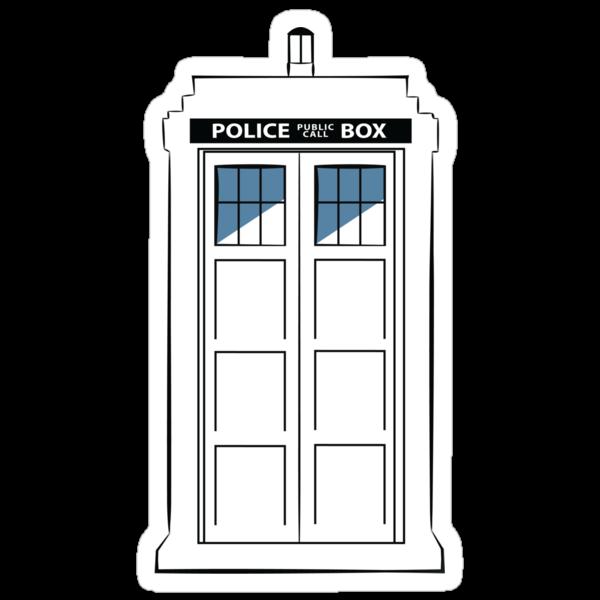 Multi-colour TARDIS by CFletch85
