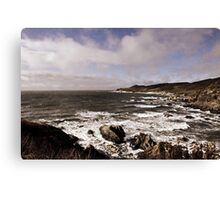 North Devon Coastline Canvas Print