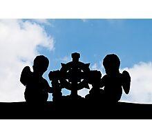 Angelic silhouette Photographic Print