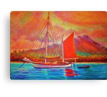 Mango Sail Canvas Print