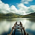 Loch Lomond Jetty by Brian Kerr