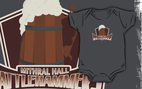 Mithral Hall Battlehammers by Nana Leonti