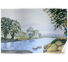 River Wharfe - Late Summer Poster