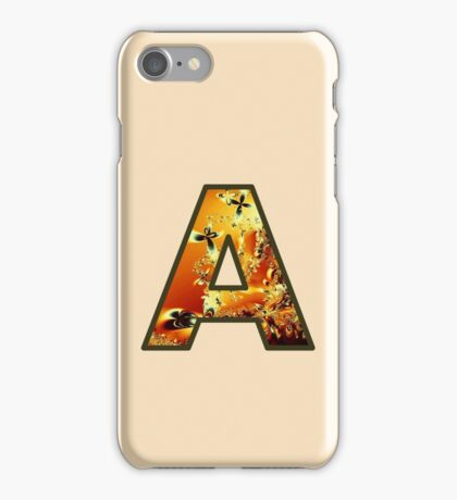 Fractal – Alphabet – A is for Abstract iPhone Case/Skin