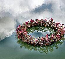 Floating Wreath by Jazzdenski