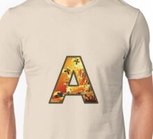 Fractal – Alphabet – A is for Abstract Unisex T-Shirt