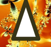 Fractal – Alphabet – A is for Abstract Sticker