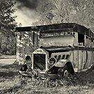 Rustic Camper by Michael  Dreese