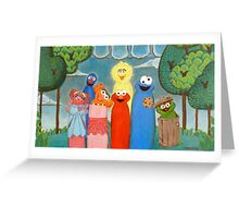Sesame Street My Way 1 Greeting Card