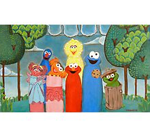 Sesame Street My Way 1 Photographic Print