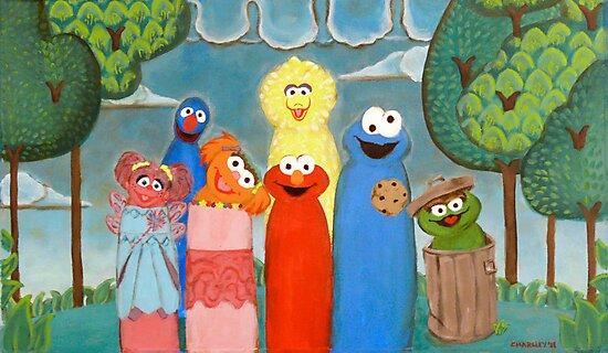 Sesame Street My Way 1 by Jewel  Charsley