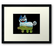 KITTEN 3/6 Framed Print