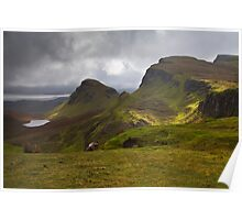 The Quiraing, Isle of Skye, Scotland Poster