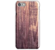 plank iPhone Case/Skin