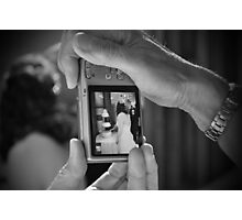A Couple and The Cake Photographic Print