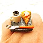 Cheesecake & Coffee Ring by souzoucreations