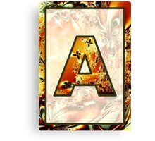 Fractal – Alphabet – A is for Abstract Canvas Print