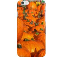 Pumpkins All Over iPhone Case/Skin