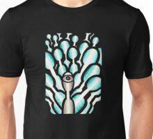 little alien feels shattered Unisex T-Shirt