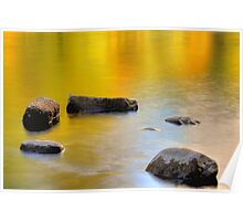 Golden Glow Of Fall Colors Poster