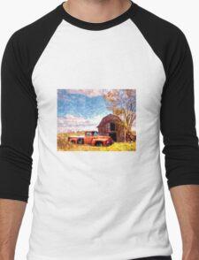 """Rural Americana"" Men's Baseball ¾ T-Shirt"
