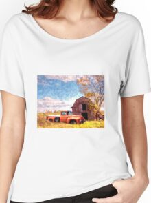 """Rural Americana"" Women's Relaxed Fit T-Shirt"