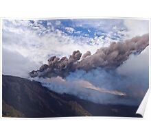 16th paroxysm - Mt. Etna  Poster