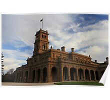 Werribee Mansion ~ Werribee Park, Victoria Poster