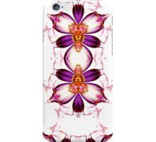 White and Purple iPhone Case/Skin