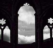 Abbey Window by David J Knight