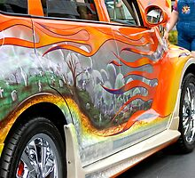 PT CRUISER GRAVE YARD CAR by TJ Baccari Photography